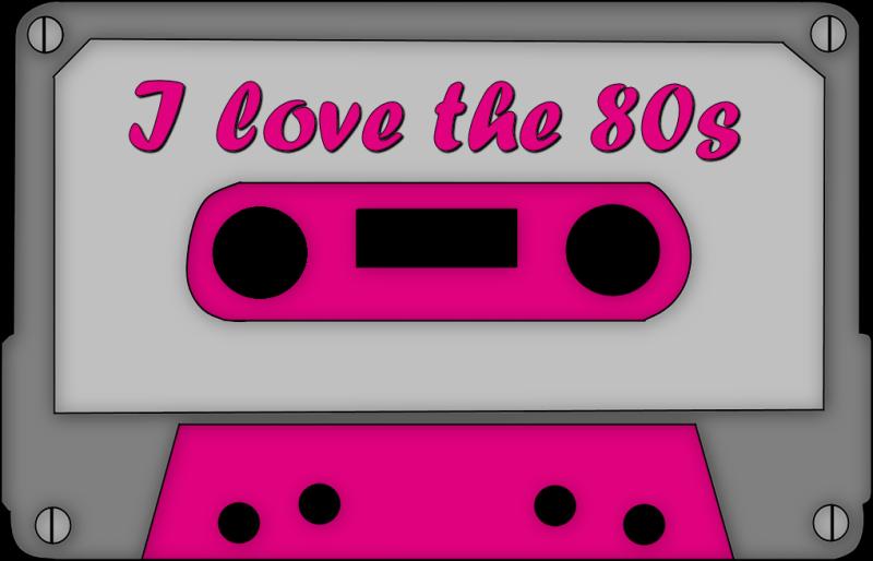 banner transparent stock 80's clipart casette tape #54109981