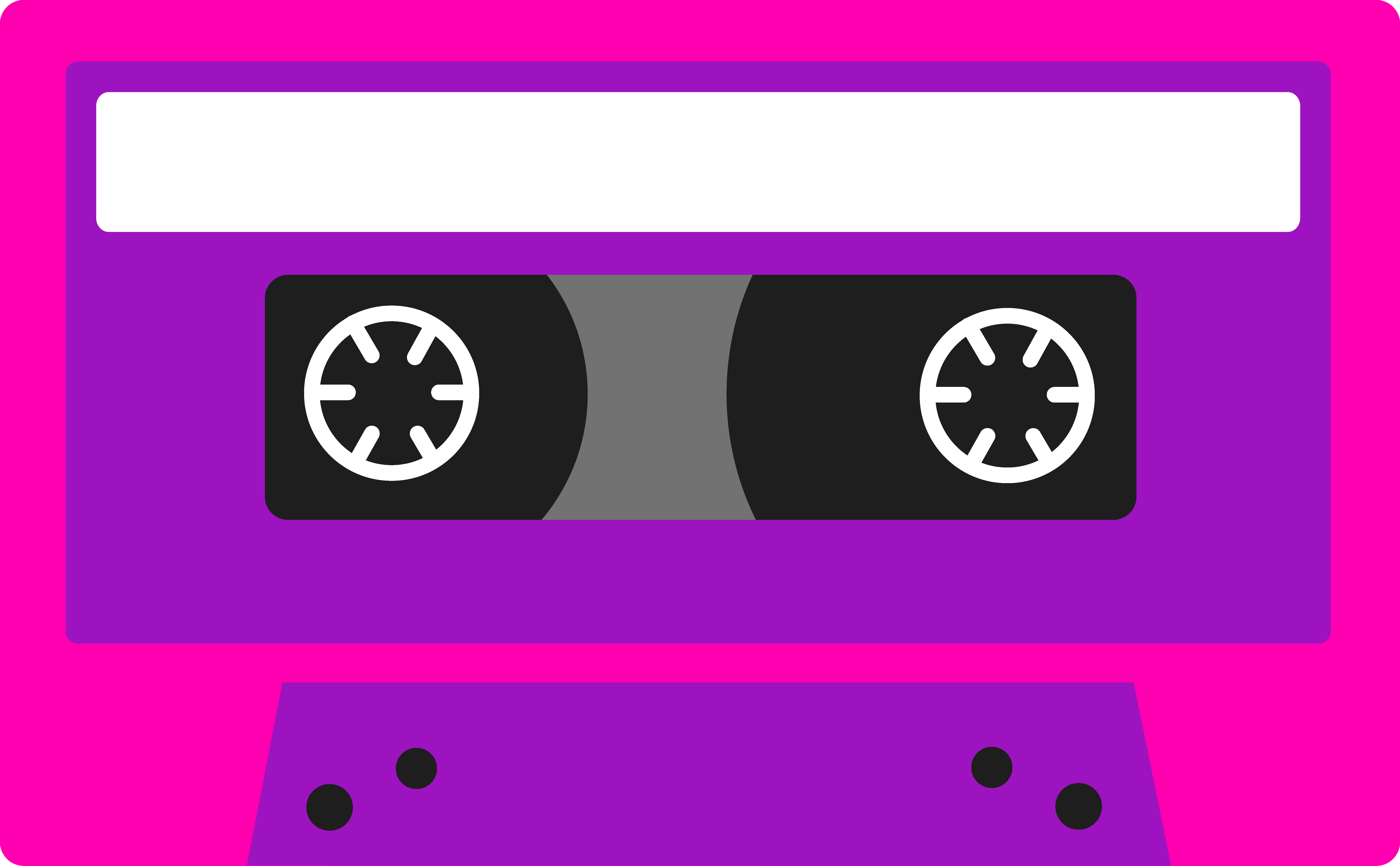 banner royalty free Cassette clipart 80s party.  s graphics clip.