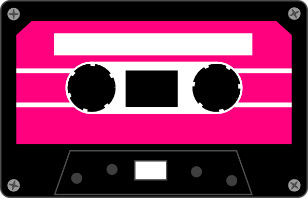 graphic library stock Cassette clipart 80s party.  s graphics clip.