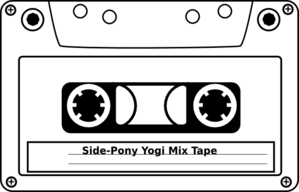 clip transparent download  s mix tape. 80's clipart cassete