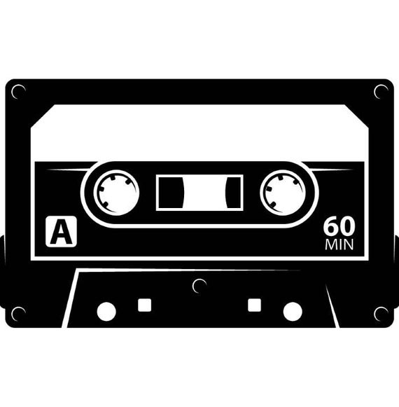 svg royalty free 80's clipart cassette player. Tape album audio recording
