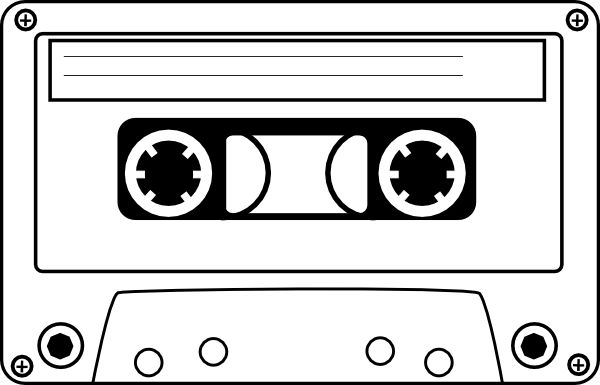 clip freeuse download Free music tape cliparts. 80's clipart cassette player