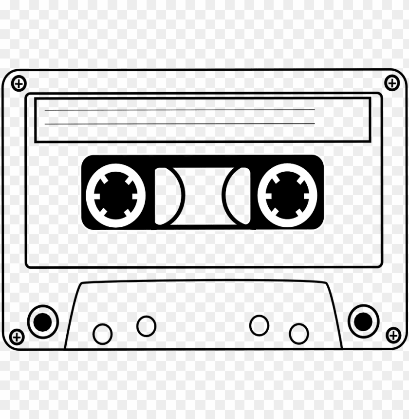 svg royalty free stock 80's clipart cassette player. Banner freeuse download s