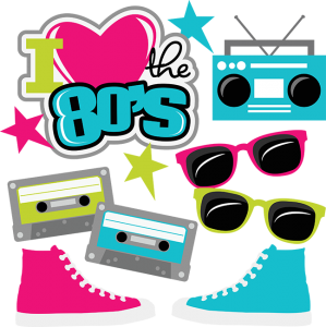 image freeuse download I love the s. 80's clipart cassette player