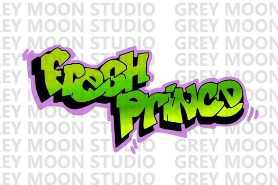 banner download B s green and. 80's clipart fresh prince