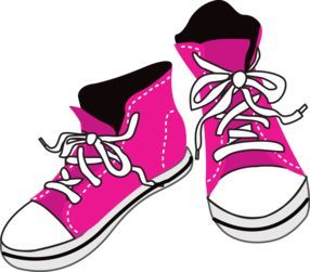 vector freeuse stock Image result for s. 80's clipart high top sneaker