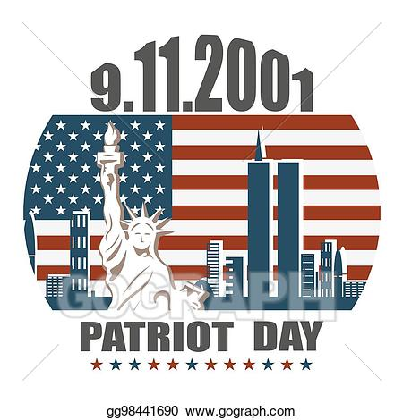 banner freeuse Clip art vector patriot. 9 11 clipart artwork