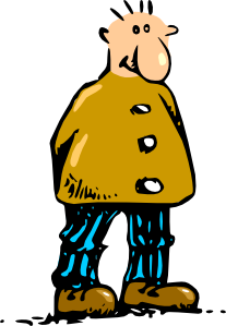 clip royalty free library 9 11 clipart cartoon. Man standing clip art