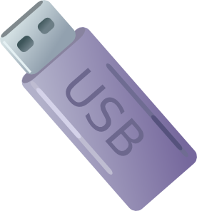 vector black and white library Usb thumbdrive flash storage. 9 11 clipart in memory