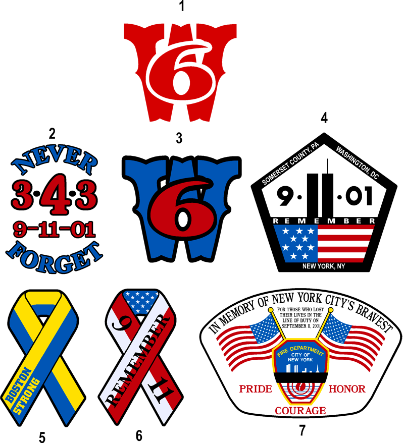banner black and white library Graphics department greenwood emergency. 9 11 clipart in memory