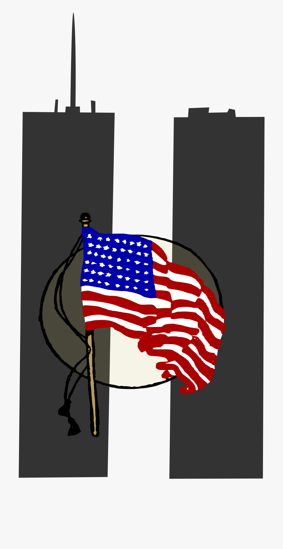 graphic library  memorial day. 9 11 clipart logo