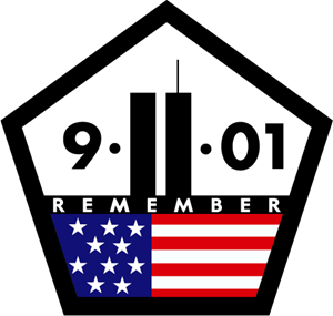 library 9 11 clipart logo.  remember vector eps
