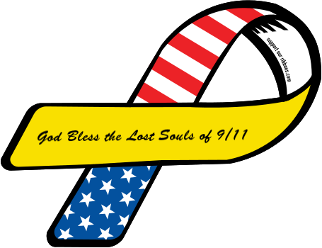 vector freeuse library Custom god bless the. 9 11 clipart ribbon.