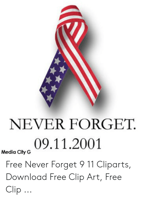 vector royalty free stock 9 11 clipart ribbon. Never forget media city.