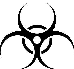 jpg free download Biohazard clip art at. 9 11 clipart symbol