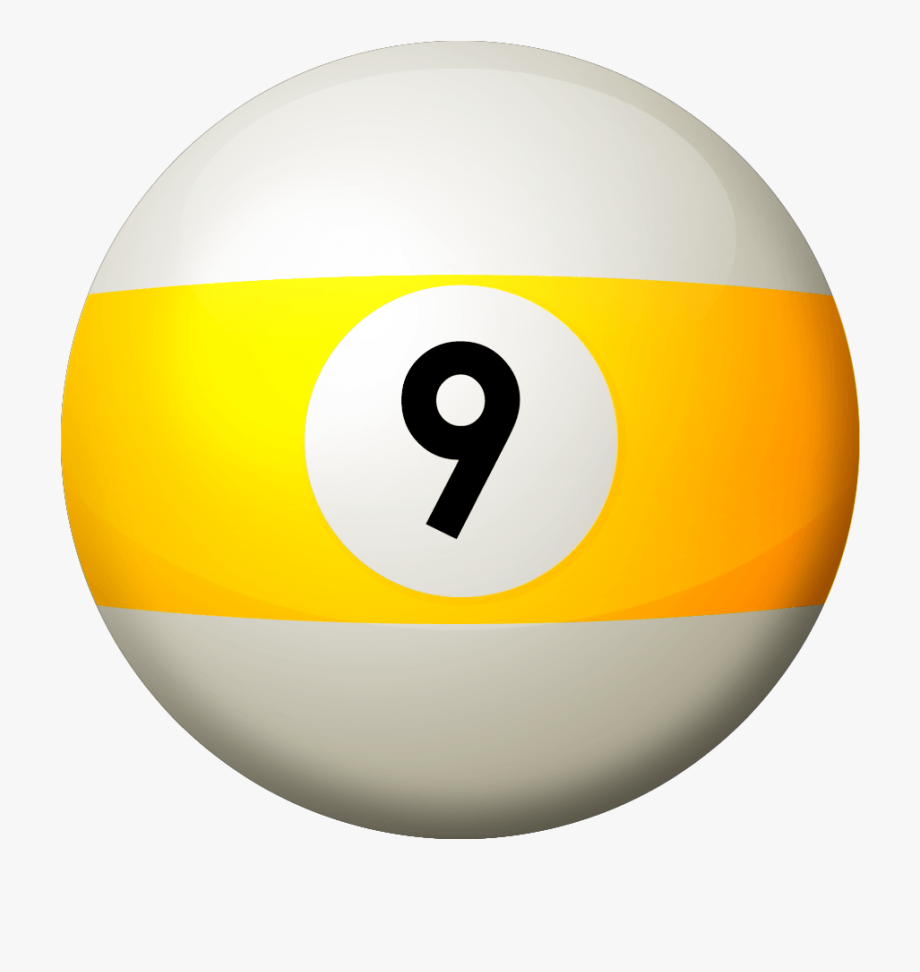 png free library  pool transparent cartoon. 9 ball clipart