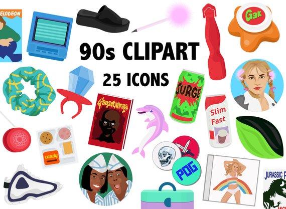 clip art freeuse download  s era nostalgia. 90s clipart.