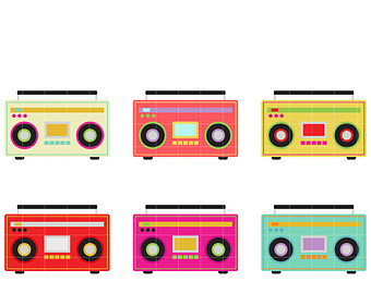 image transparent download 90s clipart boombox. Free s cliparts download.