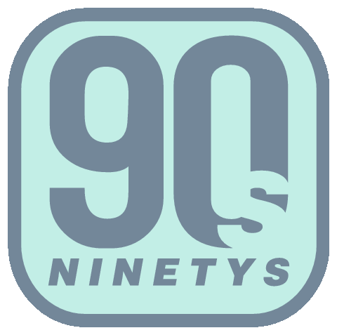 picture black and white  s logos company. 90s clipart ninety