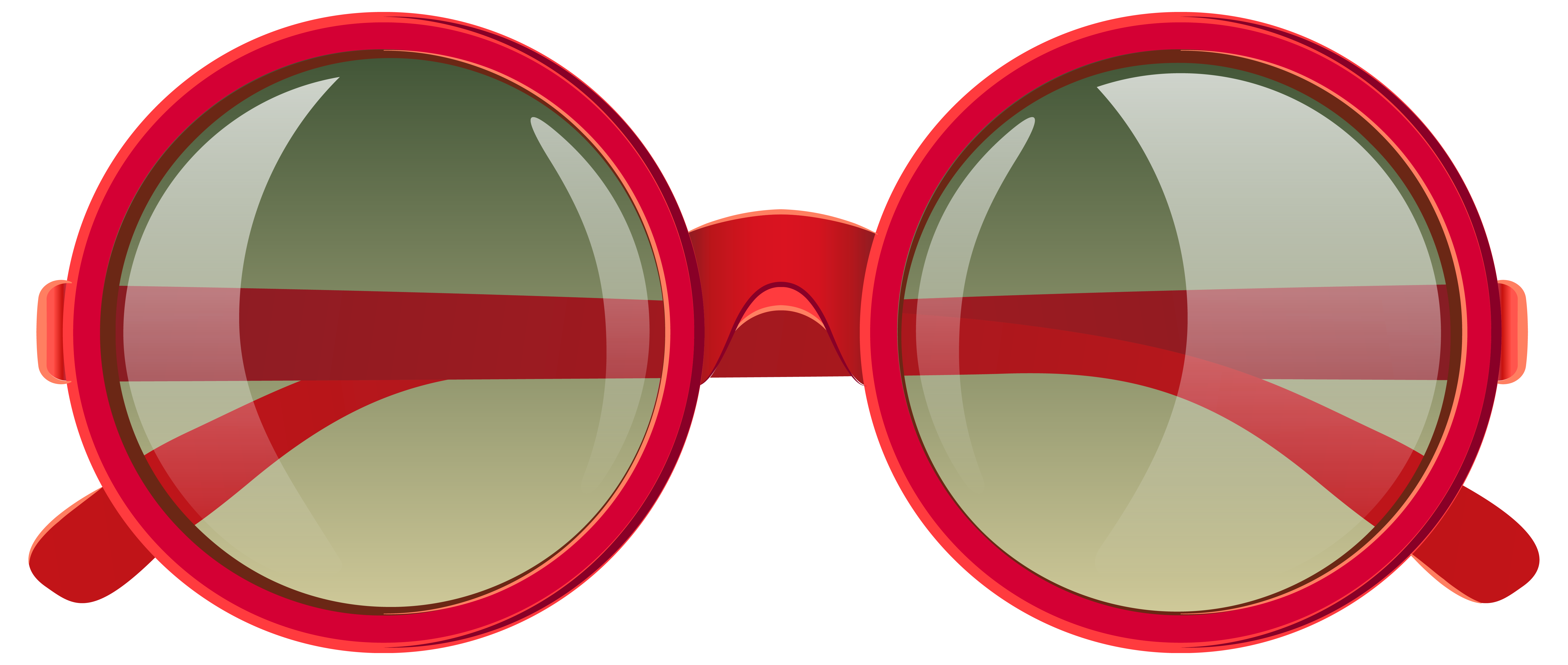 picture black and white stock Cute red png image. 90s clipart sunglasses