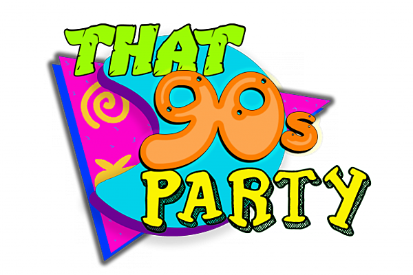 banner freeuse download That s party . 90s clipart trendy