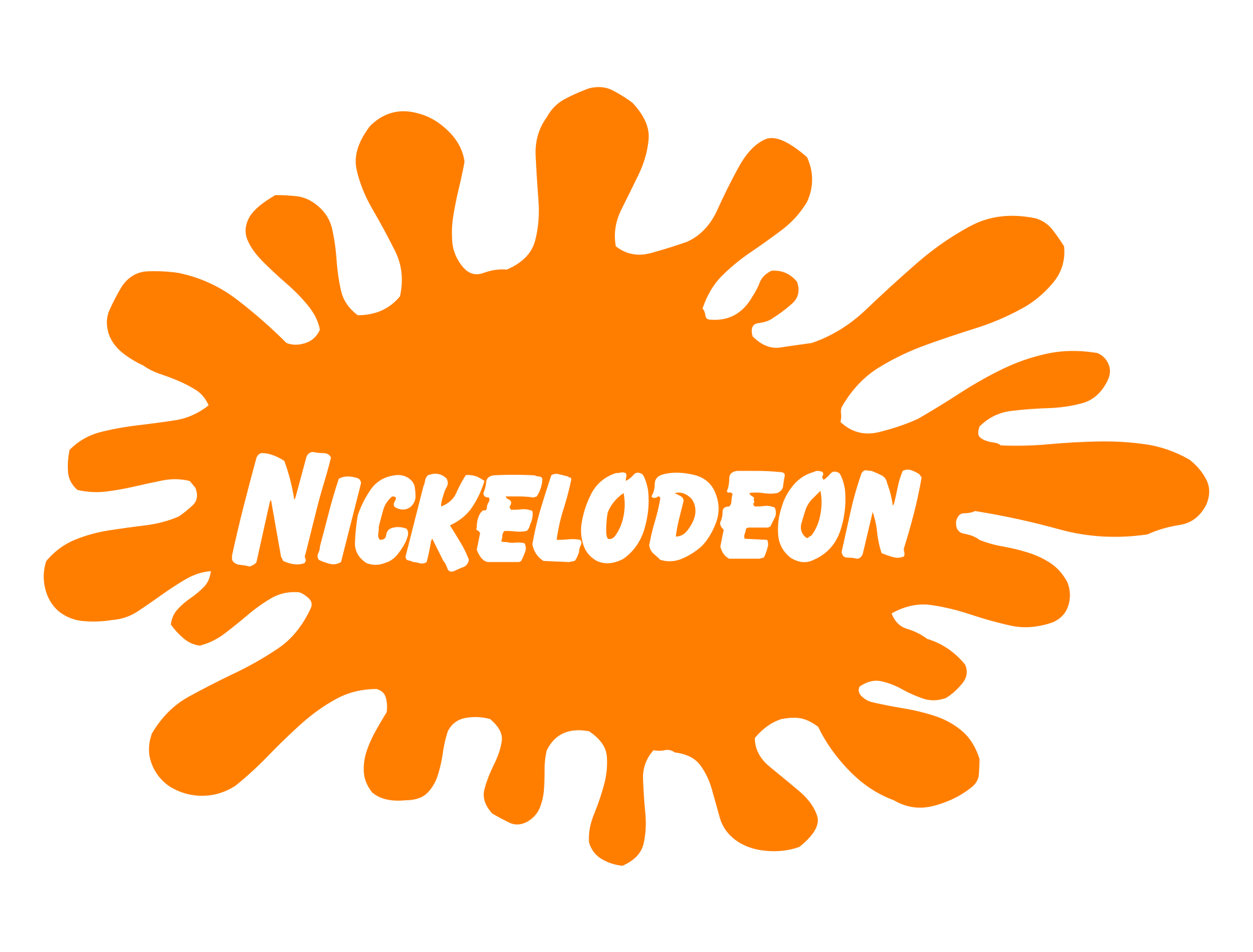 svg library Nickelodeon classic s logo. 90s clipart years old.