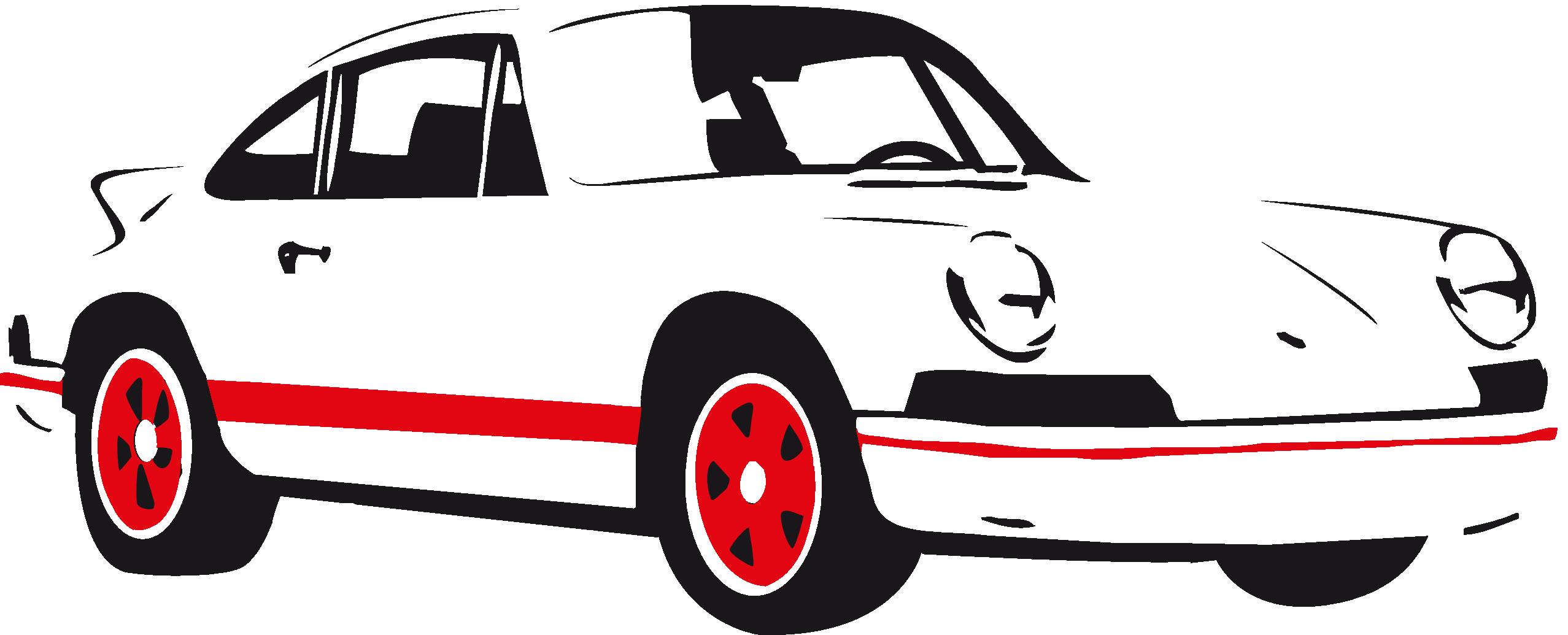 banner transparent 911 clipart. Porsche silhouette at getdrawings