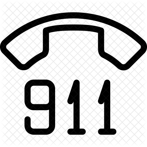 image transparent library  icon network communication. 911 clipart 911 phone