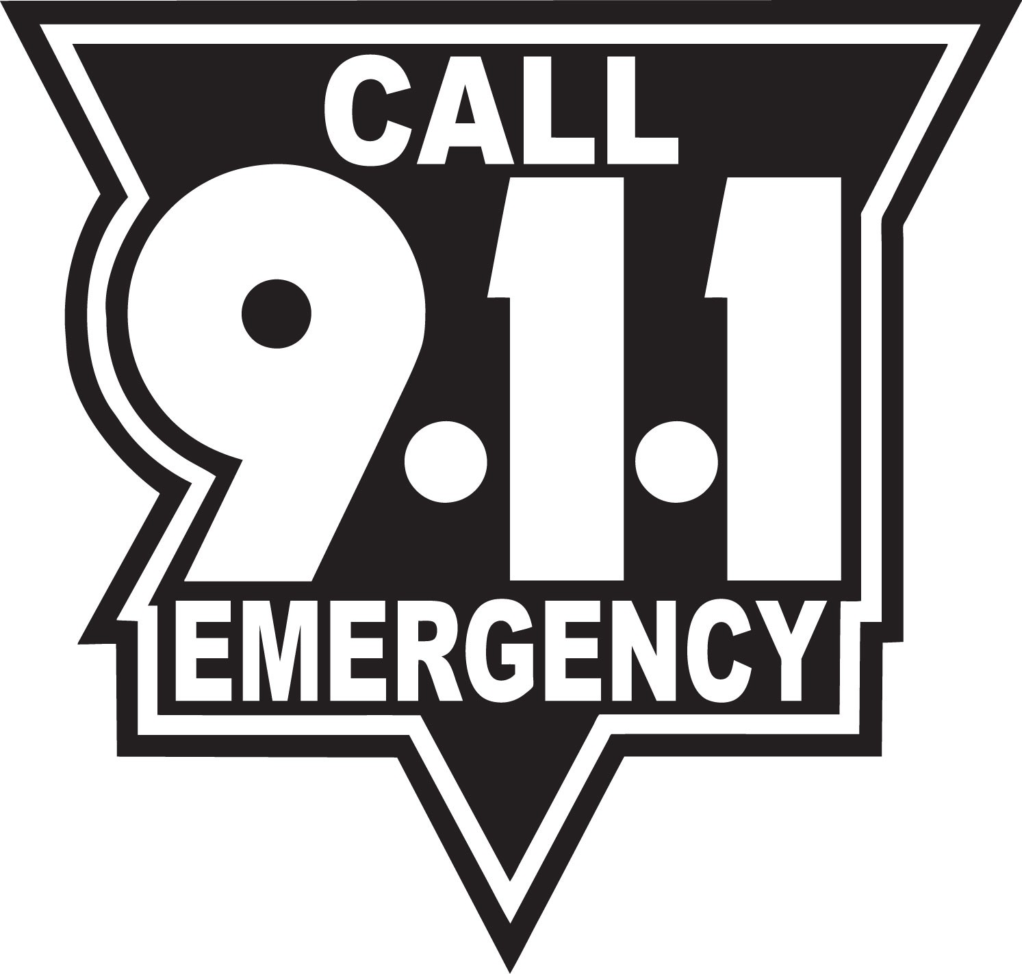 clipart transparent stock 911 clipart fire emergency.  black and white.