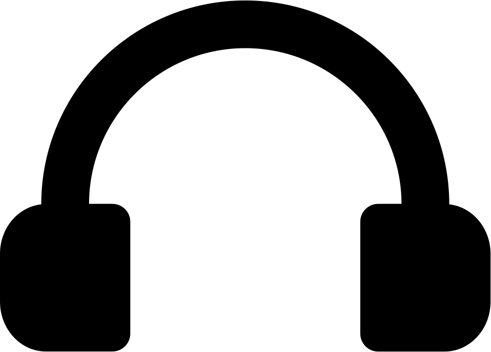 black and white library 911 clipart headset. Svg png icon free