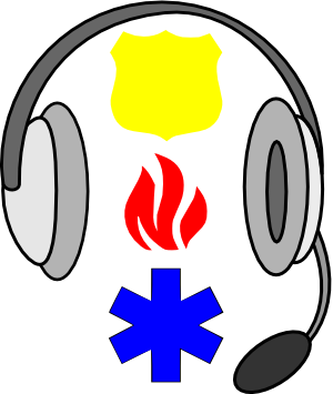 jpg royalty free library  dispatcher clip art. 911 clipart headset