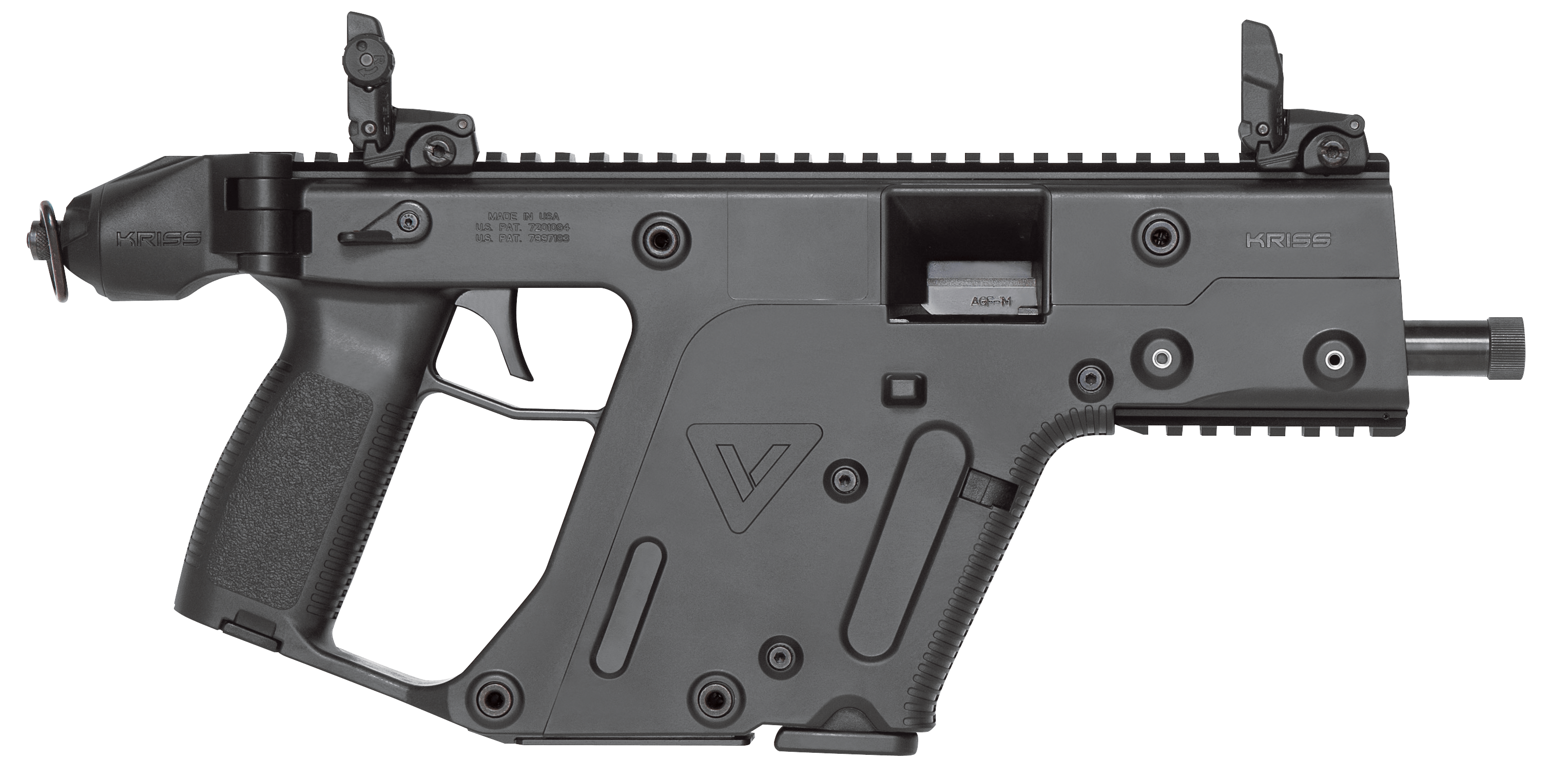 clip freeuse download Kriss usa kv pbl. 9mm vector.