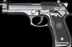 clip transparent vector firearm police gun #107819479