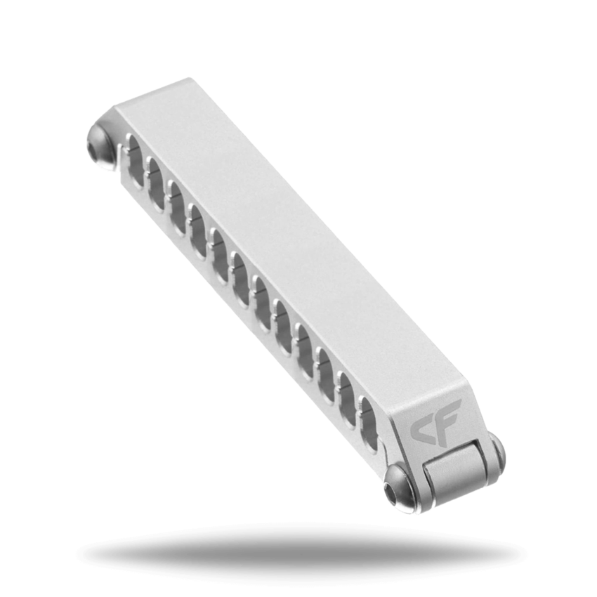 image black and white Aluminum Cable Comb