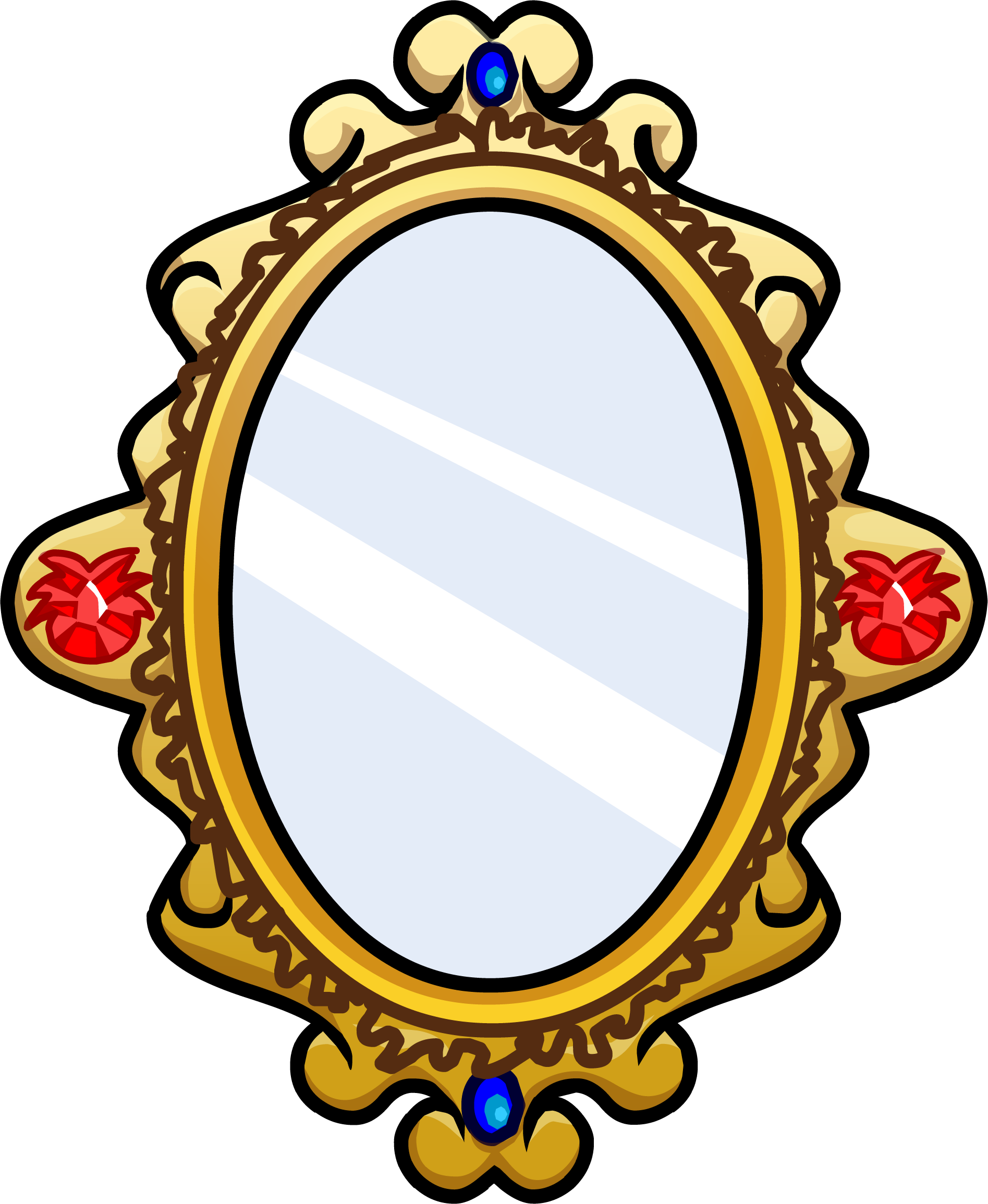 graphic freeuse download Ornate Mirror