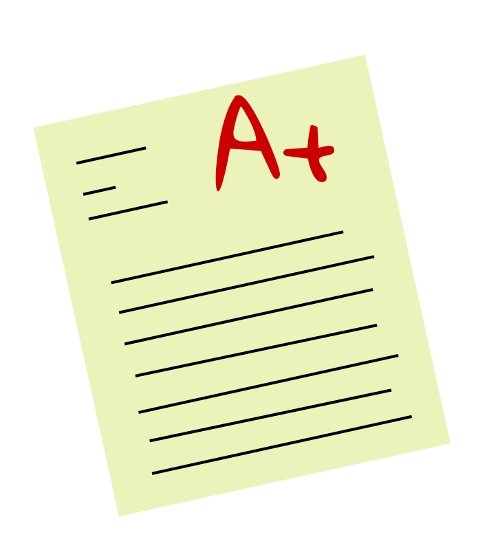 clip transparent Writer clipart teacher grading papers. A paper