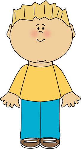 image freeuse Blonde free . A clipart boy