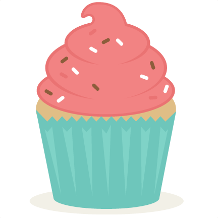 vector freeuse library Cupcake SVG scrapbook cut file cute clipart files for silhouette