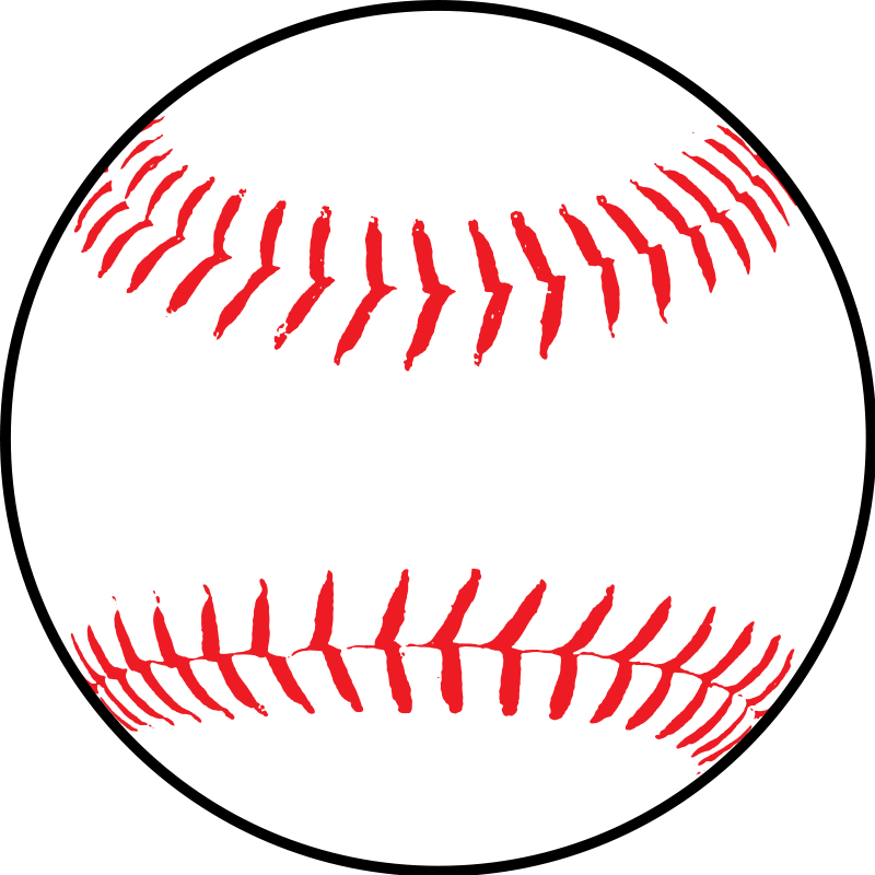 graphic freeuse Vector clip art download. A clipart softball