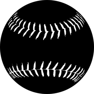 clip art freeuse stock A clipart softball. Black clip art at