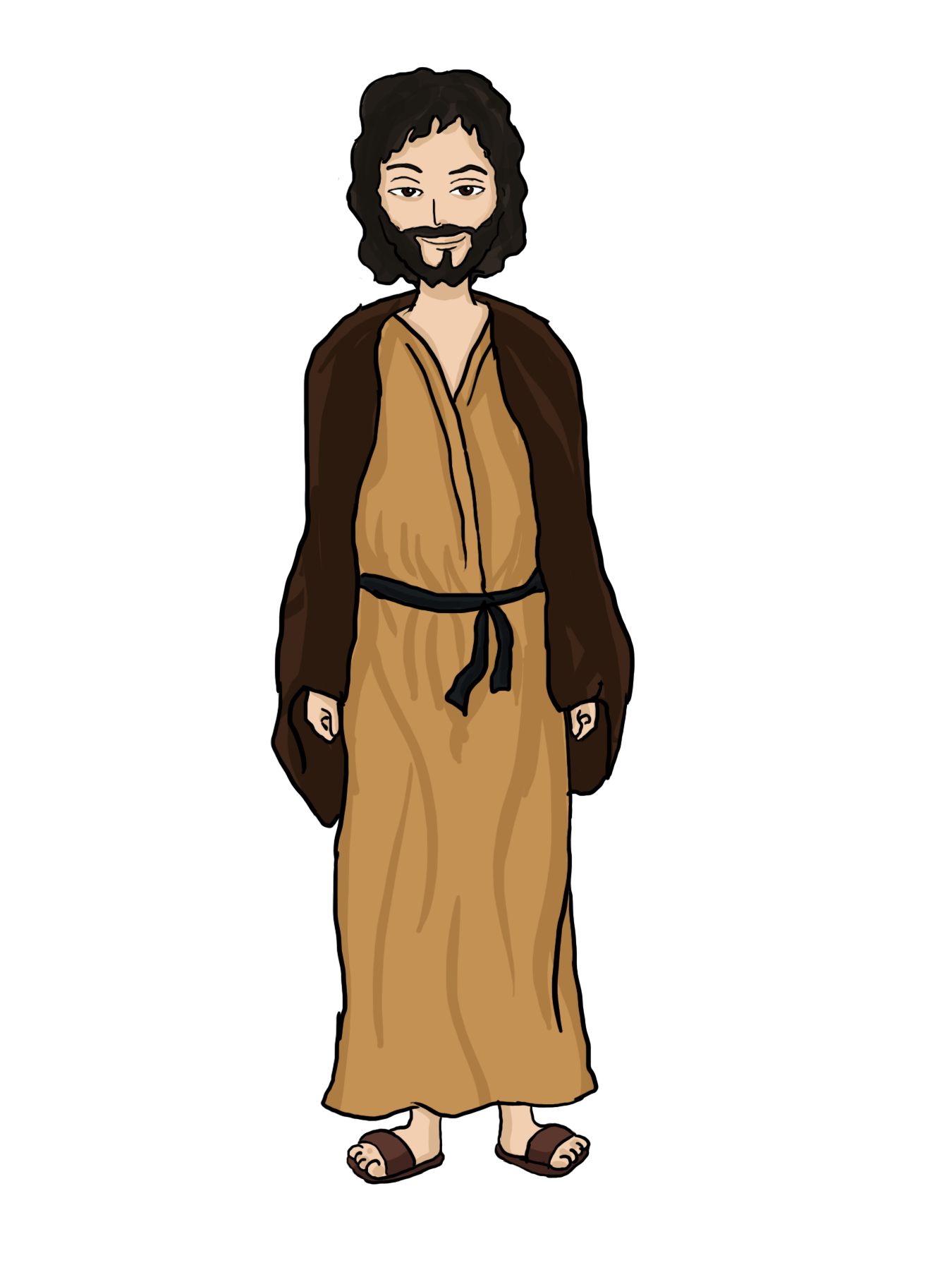 vector stock Bible people google search. Moses clipart background.