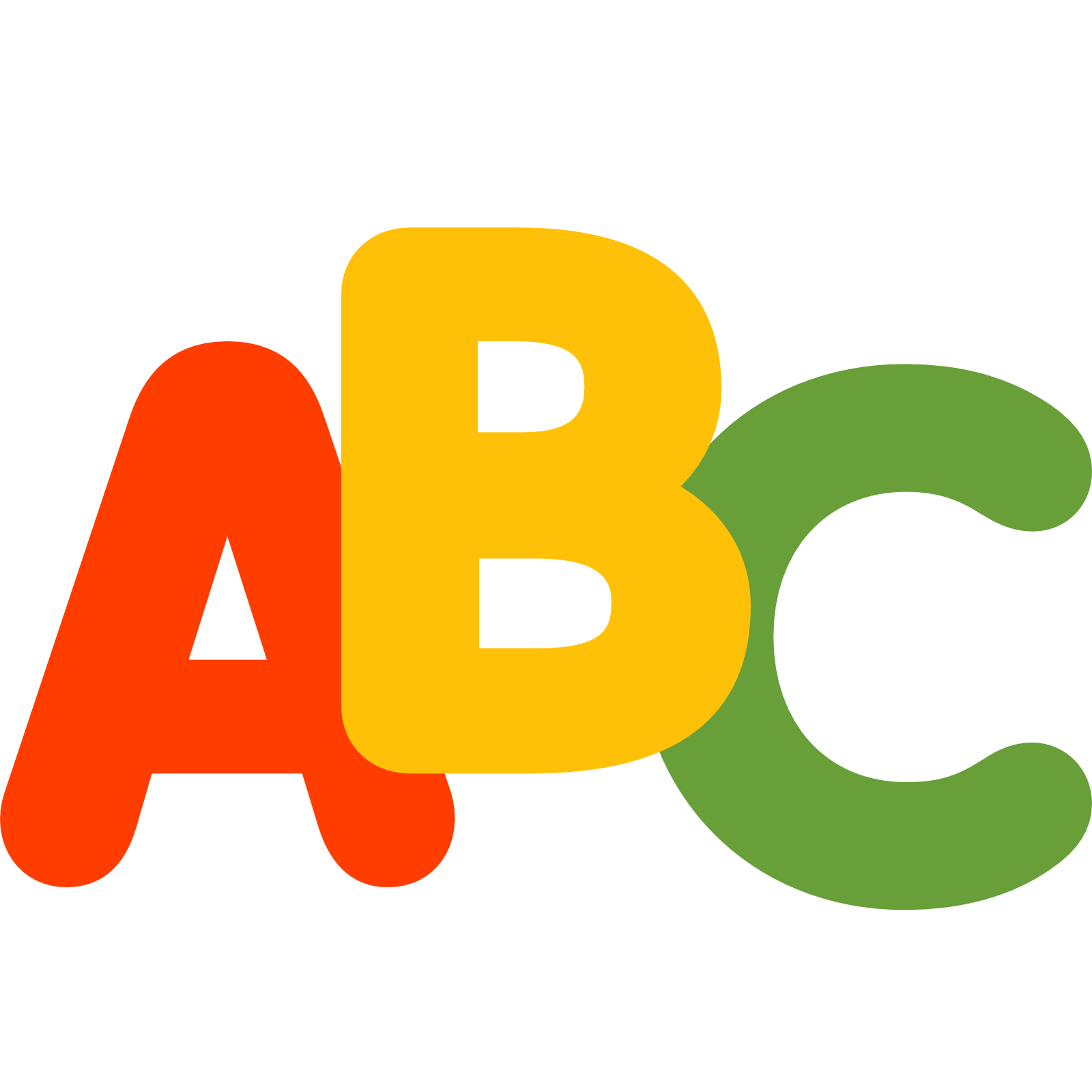 jpg black and white stock Abc clipart.  collection of png