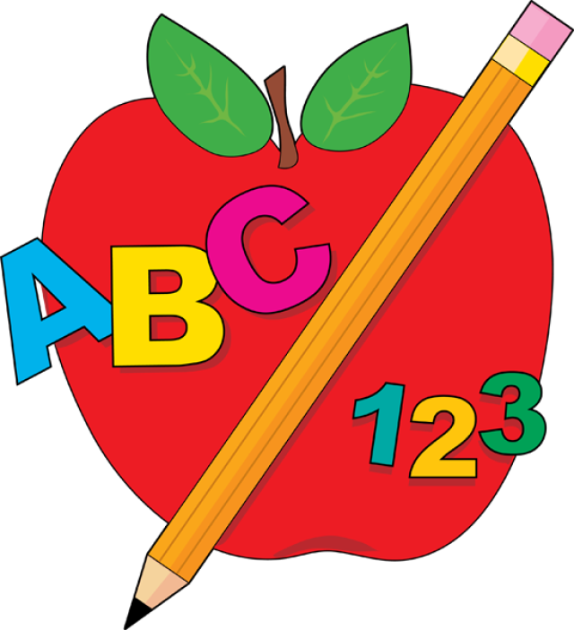 graphic royalty free library Abc clipart practice teaching. Back to school images