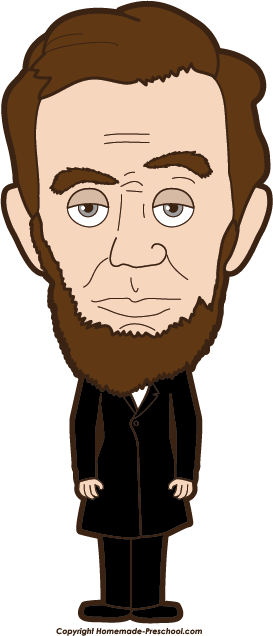 banner stock Abraham lincoln clipart. Clip art and hardin