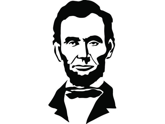 png transparent stock Abraham lincoln clipart. President famous american history.