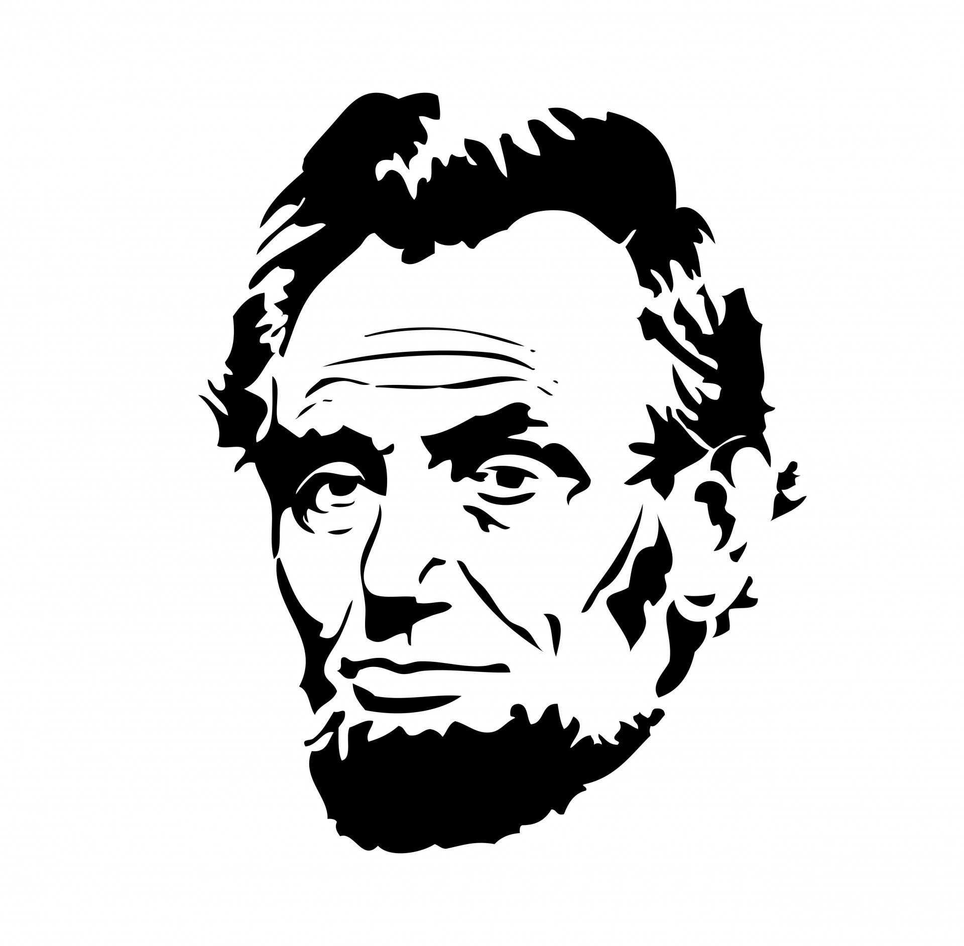 svg freeuse library Abraham lincoln clipart. Free stock photo hd