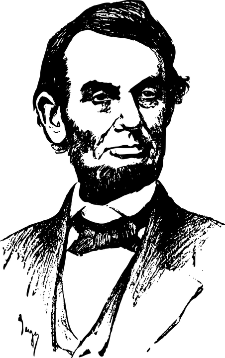 clip art free stock Abraham lincoln clipart. Transparent png stickpng