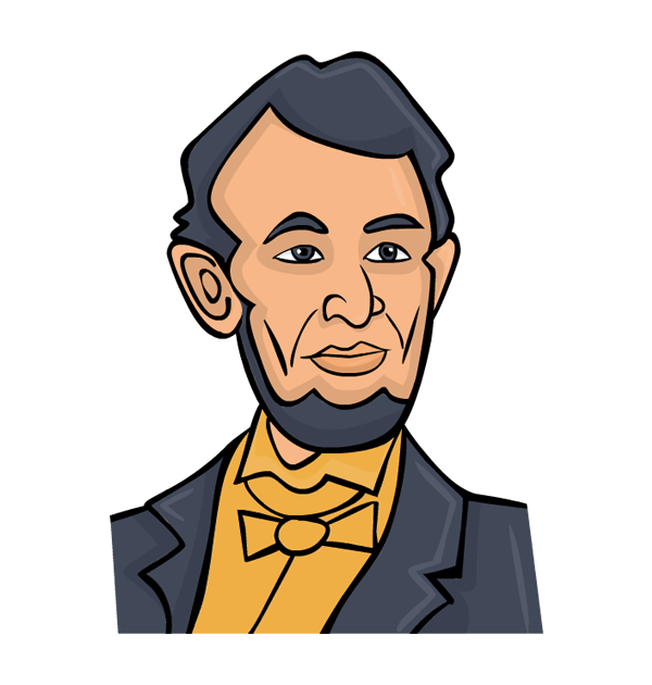 vector royalty free Abraham lincoln clipart. Free cliparts download clip