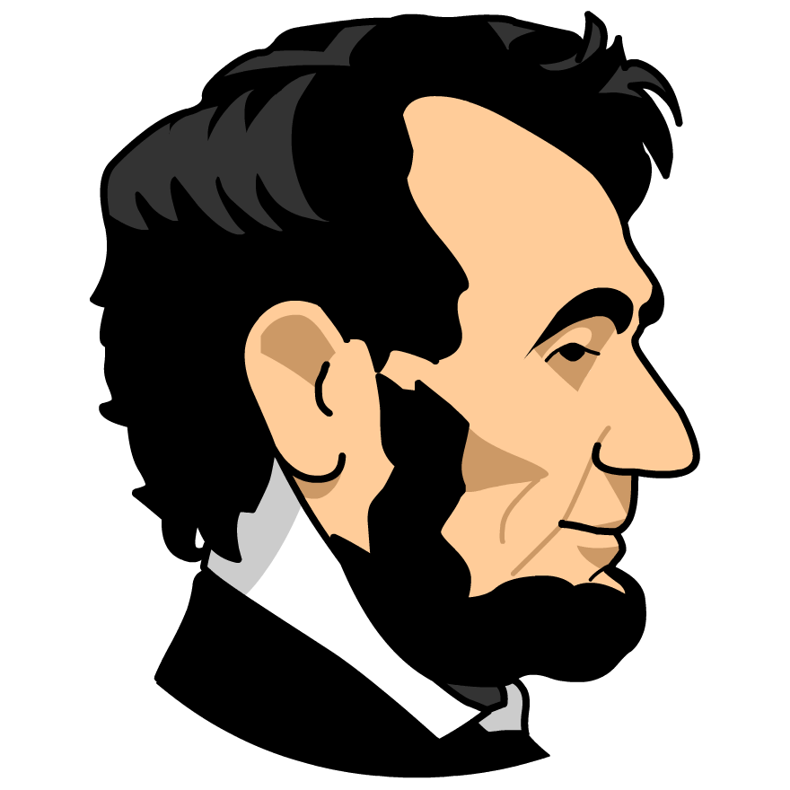 png download Pretentious abe goodly storyteller. Abraham lincoln clipart