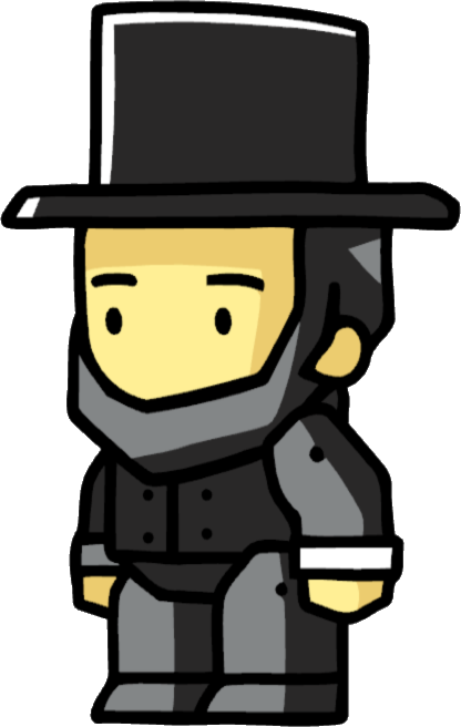 png royalty free stock Scribblenauts wiki fandom powered. Abraham lincoln clipart aberaham